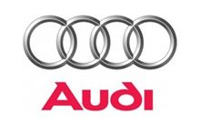 Audi car key logo